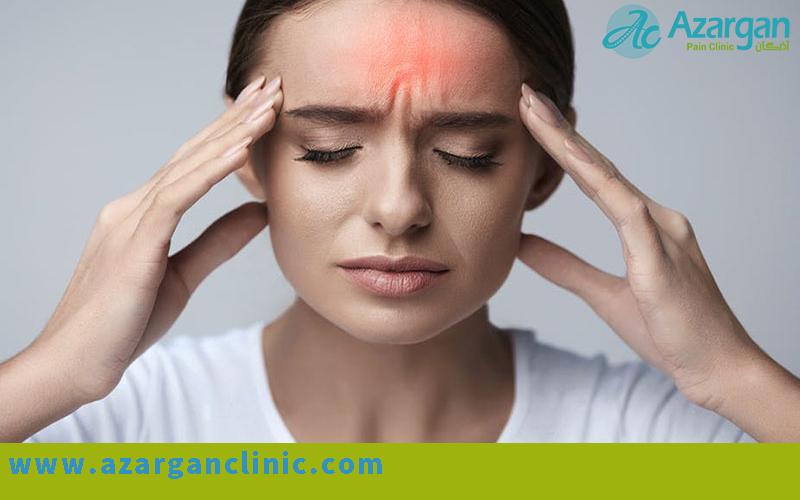 درمان سردردهای تنشی - کلینیک اذرگان