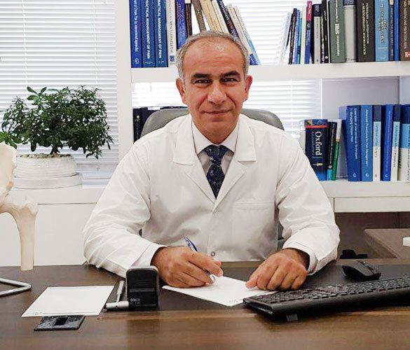 دکتر مسعود ترکاشوند، متخصص طب فیزیکی