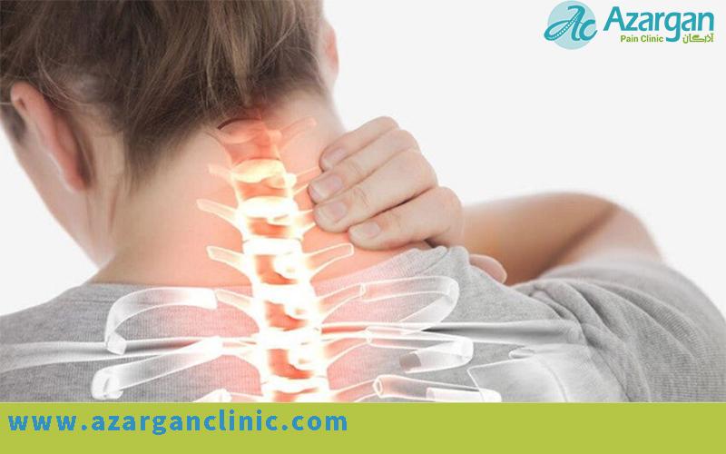 علائم و نشانه های دیسک گردن