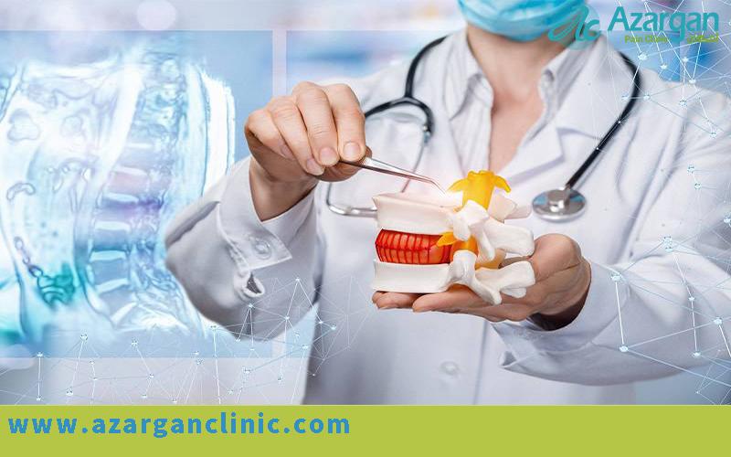 - علایم و نشانه های دیسک کمر - دیسک کمر - درمان بدون جراحی دیسک کمر - کلینیک اذرگان